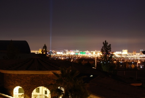 View from a green valley ranch homes in henderson, nv