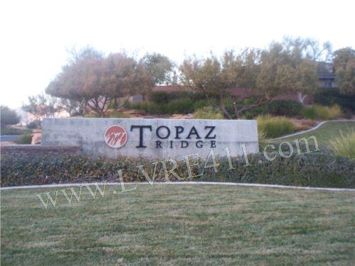 Topaz ridge in the ridges
